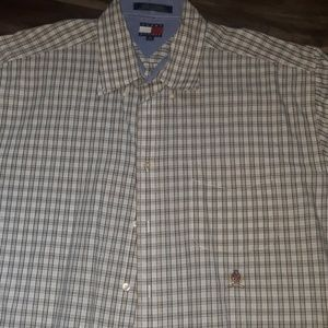 Tommy Hilfiger men's button down shirt extra large